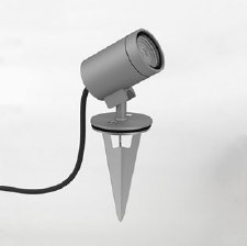 Bayville Spike Outdoor Ground Spot Light 8309 Grey