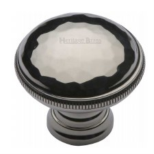 Heritage Beaten Cabinet Knob C4545 Polished Nickel