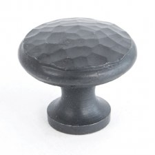 From The Anvil Beaten Cupboard Knob Beeswax Medium