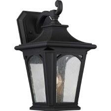Quoizel Bedford Outdoor Wall Lantern Medium Mystic Black