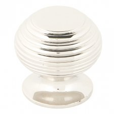 From The Anvil Beehive Cabinet Knob Polished Nickel Small