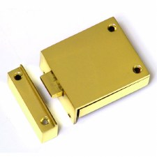 Croft Beggar Door Latch Polished Brass Unlacquered