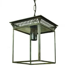 Belgravia Hanging Lantern Small Antique
