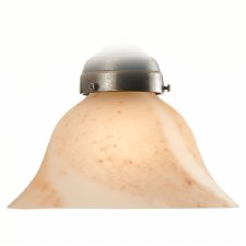 Bell Alabaster Terracotta Shade 18cm