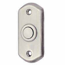 Door Bell Push Satin Chrome