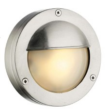 David Hunt BEM5038 Bembridge Hooded Flush Light Nickel IP44