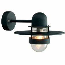 Elstead Bergen Outside Wall Light Black