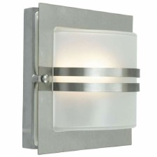 Elstead Bern Flush Outdoor Wall Light Stainless Steel
