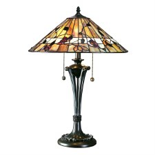 Interiors 1900 Bernwood Large Tiffany Table Lamp