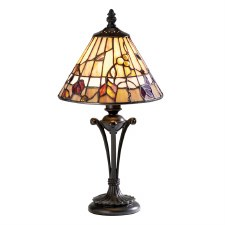 Interiors 1900 Bernwood Small Tiffany Table Lamp