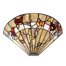 Interiors 1900 Bernwood Tiffany Wall Uplighter