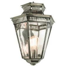 Bevelled Passage Wall Lantern Nickel