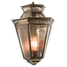 Bevelled Passage Wall Lantern Light Antique
