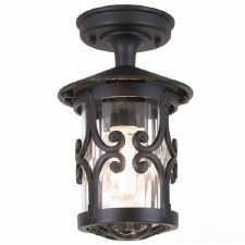 Elstead Hereford Tube Light Black