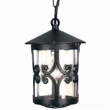 Elstead Hereford Fancy Chain Light Black