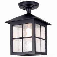 Elstead Winchester Tube Light Black