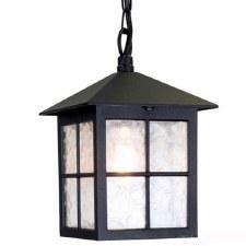 Elstead Winchester Porch Light Black