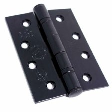 Black Ball Bearing Butt Hinge Black