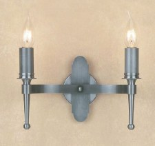 Blenheim Double Wall Light Sterling