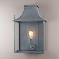 Blenheim Coach Lamp Large Zinc