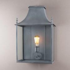 Blenheim Coach Lamp Large Zinc