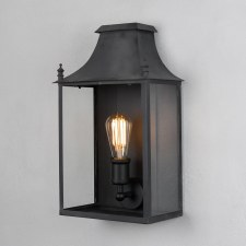 Blenheim Wall Lamp Medium Black