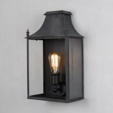 Blenheim Wall Lamp Medium Black