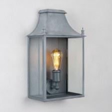 Blenheim Coach Lamp Medium Zinc
