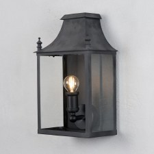 Blenheim Coach Lamp Small Black