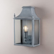 Blenheim Coach Lamp Small Zinc