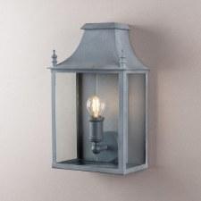 Blenheim Coach Lamp Small Zinc