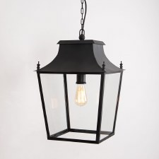 Blenheim Lantern Large Black