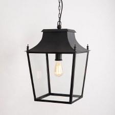 Blenheim Lantern Large Black