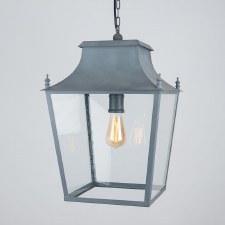 Blenheim Lantern Large Zinc