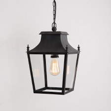 Blenheim Lantern Small Black