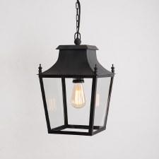 Blenheim Lantern Small Black