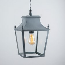 Blenheim Lantern Small Zinc