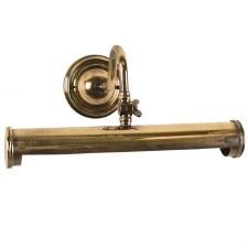 Blenheim Tube Picture Light 340mm Renovated Brass