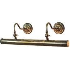 Blenheim Tube Picture Light 640mm Light Antique Brass