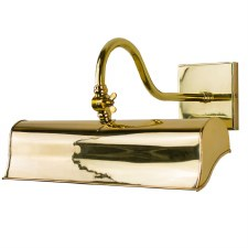 Blenheim Trough Picture Light 315mm Polished Brass