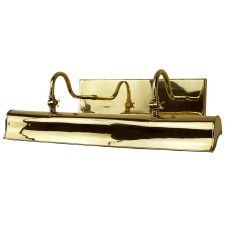 Blenheim Trough Picture Light 615mm Polished Brass