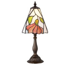 Interiors 1900 Botanica Small Tiffany Table Lamp