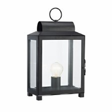 Box Table Lamp Black