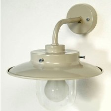 Bradford Outdoor Wall Light Putty Grey