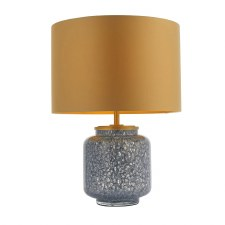 Bridport Table Lamp Matt Antique Brass
