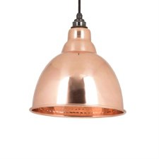 From The Anvil Brindley Pendant 49500 Hammered Copper