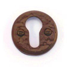 Euro Oval Escutcheon Country Bronze