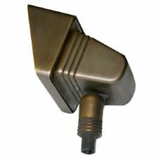Elstead Low Voltage Solid Bronze Rectangular Garden Spot Light
