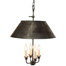 Broughton Pendant Ceiling Light Antique Brass