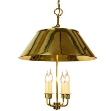 Broughton Pendant Ceiling Light Polished Brass